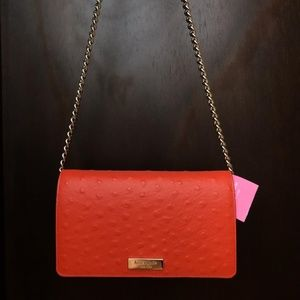 Kate Spade Alexander Avenue Isabeli Cross leather